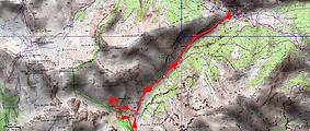 Randonnée raquettes cabane de Valloar, au départ de Saint Dalmas le Selvage