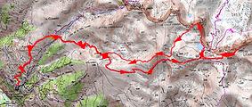 Randonnée et ascension de Tête de l'Autaret, retour par les lacs de Colle Longue et le col de la Seche. Trace GPS, carte IGN, topo, itinéraire, photos. Départ depuis le hameau de Douans.