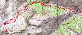 Randonnée raquettes Tête du Colombier, au départ de Saint Dalmas le Selvage