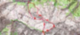 Randonnée et ascension du Mont Mounier.carte IGN 1/25