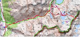 Randonnée au col du Palas par les lacs d'Artouste, d'Arrémoulits, Arrious. Départ du Caillou de Soques