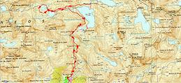 Circuit des lacs Azul Inférieur et Supérieur (Ibon Azul inferior et ibon Azul superior