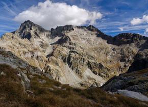 Col d'Arrémoulit et lacs d'Arriel