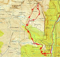 ascension du pic Tortiellas et visite de la grotte glacée de Lecherines (gruta helada de Lecherines)