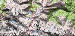 Randonnée et ascension de la Tusse de Montarqué et du Cap du Seil de la Baque, depuis le refuge du Portillon