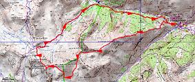 Randonnée et ascension de Tête de Sanguinière depuis Saint Dalmas le Selvage