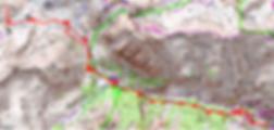 carte IGN 1/25 Tête Ronde