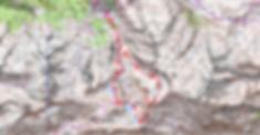 Carte IGN 1/25 les Bécottes par le pic Sanctus et tour des lacs de Louesque, lavedan Urzious, et Anglas