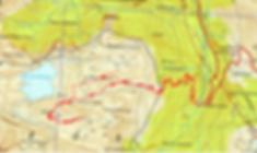 carte IGN 1/25 Crêtes d'Estaens
