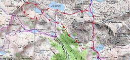Randonnée et ascension du Pic d'Aygues-Cluses par les lacs au départ du refuge du Bastan