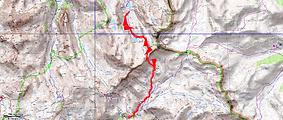 Randonnée lacs de Derrière la Croix et du Lauzanier depuis le camp s Fourches