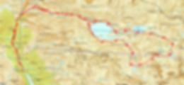 Randonnée et ascension du Pic de Campo Plano depuis l'Embalse de La Sarra, en passant par le refuge de Respomuso, et le lac de Llena Cantal. Retour par les lacs de Altos Campo Plano.