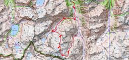 Col du Pabat depuis le refuge Ledormeur, et retour par le refuge de Larribet