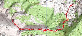 Randonnée et ascension du rocher d'Aran, secteur du Bénou en Ossau