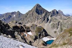 Pic d'Arriel et Gourg Glacé