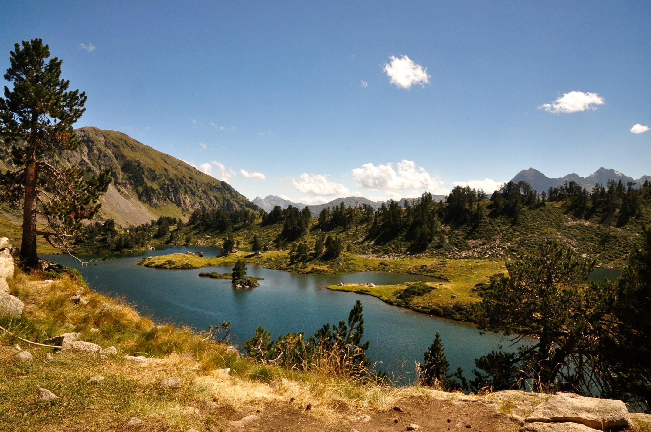 Lac de Bastan du Milieu