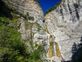 Cascade de Sorrosal par la Via Ferrata (Espagne)