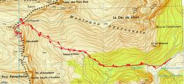Randonnée et ascension du Mouscaté au départ du pont Lamary
