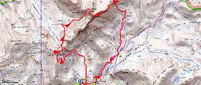Randonnée et ascension de la cime de Pélousette, de Tête Carrée et cime de Mul