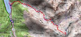 Ascension du Lurien en crampons depuis le lac de Fabrèges