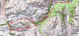 Randonnée et ascension du Pène d'Aragon, par le col de la Fache, et retour par les lacs de Cambalès et d'Opale. Superbe boucle depuis le refuge Wallon.Topo, itinèraire, trace GPS, carte IGN, et photos.