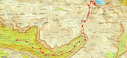 Randonnée et ascension du Mont Perdu depuis le refuge de Goriz et retour par la canyon d'Ordesa