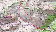 Carte IGN 1/25 La Montagnette
