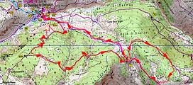 randonnée au col d'Anelle par le belvédère de Claffourtier