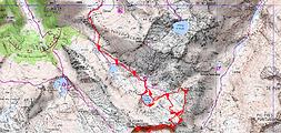 Randonnée et ascension de la Pointe de Rabassère, du pic de Turguilla, et le pic de la Croix des Lauzes, par les étangs de la Piède, de l'Astoue, de Réglisse et de la Crouzette. Topo, itinéraire, trace GPS, carte IGN, et photos. Bivouac à la cabane de Turguilla.