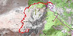 Randonnée et ascension du Grand Billare en vallée d'Aspe, au départ du plateau de Sangèse