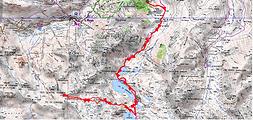 Randonnée et ascension du Pic des Quatre Termes depuis le parking du Garet, et nuit au refuge de Campana de Cloutou. Circuit des lacs de Gréziolles, de Campana, et de Cloutou. Trace GPS téléchargeable, carte IGN, topo, Itinéraire, et photos.