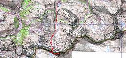 Randonnée et ascension du pic de Pinède par abrèche de Tuquerouye, au départ du lac des Gloriettesu