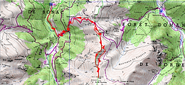 Randonnée et ascension de la Pale des Aigles, depuis la cabane de Besset, en passant par la cabane du Clot du lac, le col de Part, et le Cap de Raspe. Itinéraire, topo, trace GPS téléchargeable, carte IGN, et photos. Très beau parcours de crête. Retour au parking de la Pucelle.