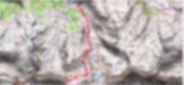 Randonnée raquettes et crampons de l'Arre-Sourins, au départ de Gourette