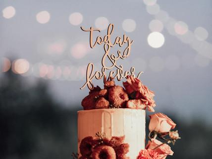 Romantic Cake Table Display