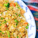 Chopped Vegetable Fried Rice