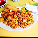 Kung Pao Chicken & Sweet Sour Pork  |  CS14