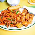 Szechuan Beef & Sweet Sour Pork | CS12