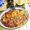 Szechuan Dumpling in Hot Tea Sauce