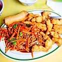 Szechuan Beef & Sweet Sour Chicken  |  CS11