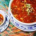 Hot & Sour Soup (No Egg) Serves 4 People