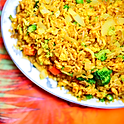 Chopped Curry Veg Fried Rice