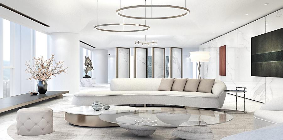 賦仕空間室內設計Forspace Interior Design, 信義區  richard meier 55 timeless 琢白, 室內設計 interior Design,樣板房實品屋