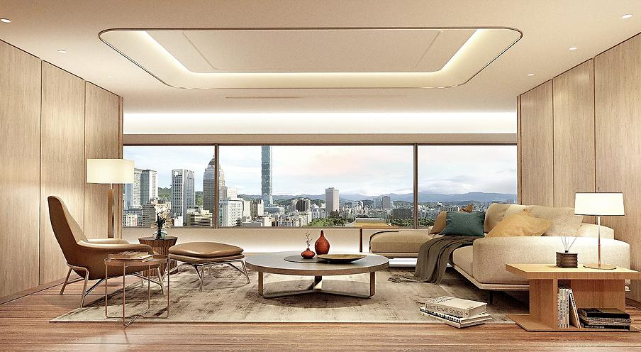 賦仕空間室內設計Forspace Interior Design, 信義區忠孝東路,豪宅設計,建案