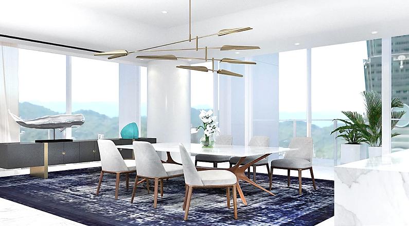 賦仕空間室內設計Forspace Interior Design, 信義區  richard meier 55 timeless 琢白, 室內設計 interior Design,