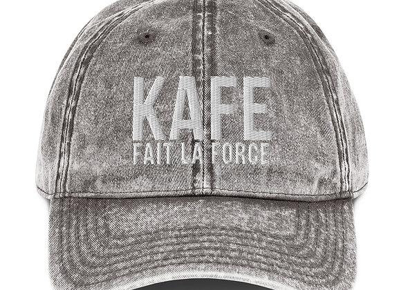 Kafe Fait la Force Vintage Cotton Twill Cap