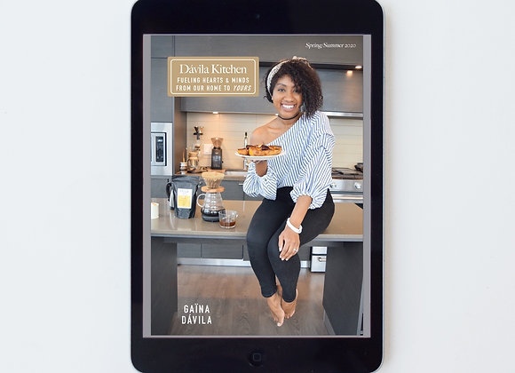 Davila Kitchen Cookbook