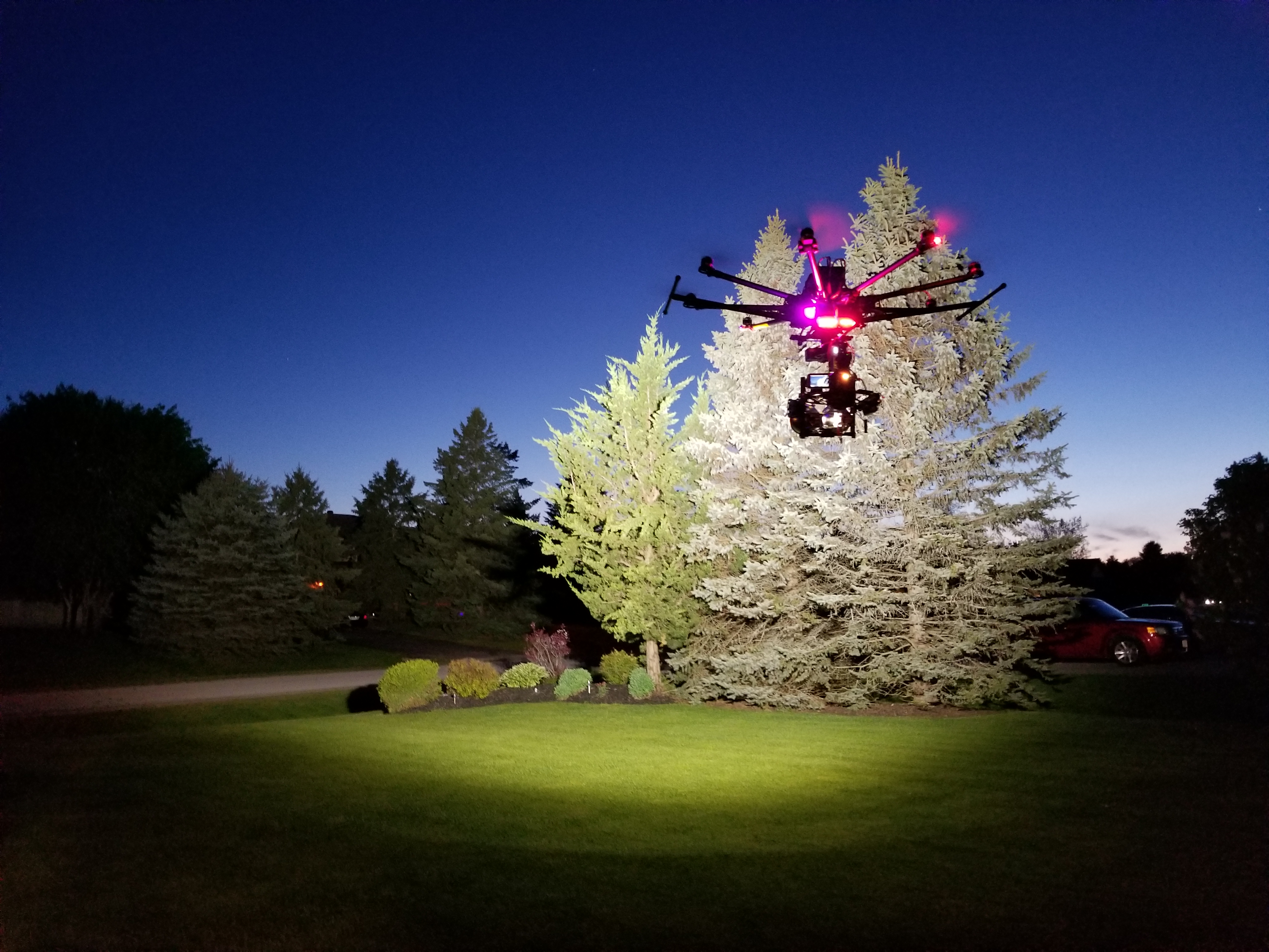 Spyder Lighting Drone