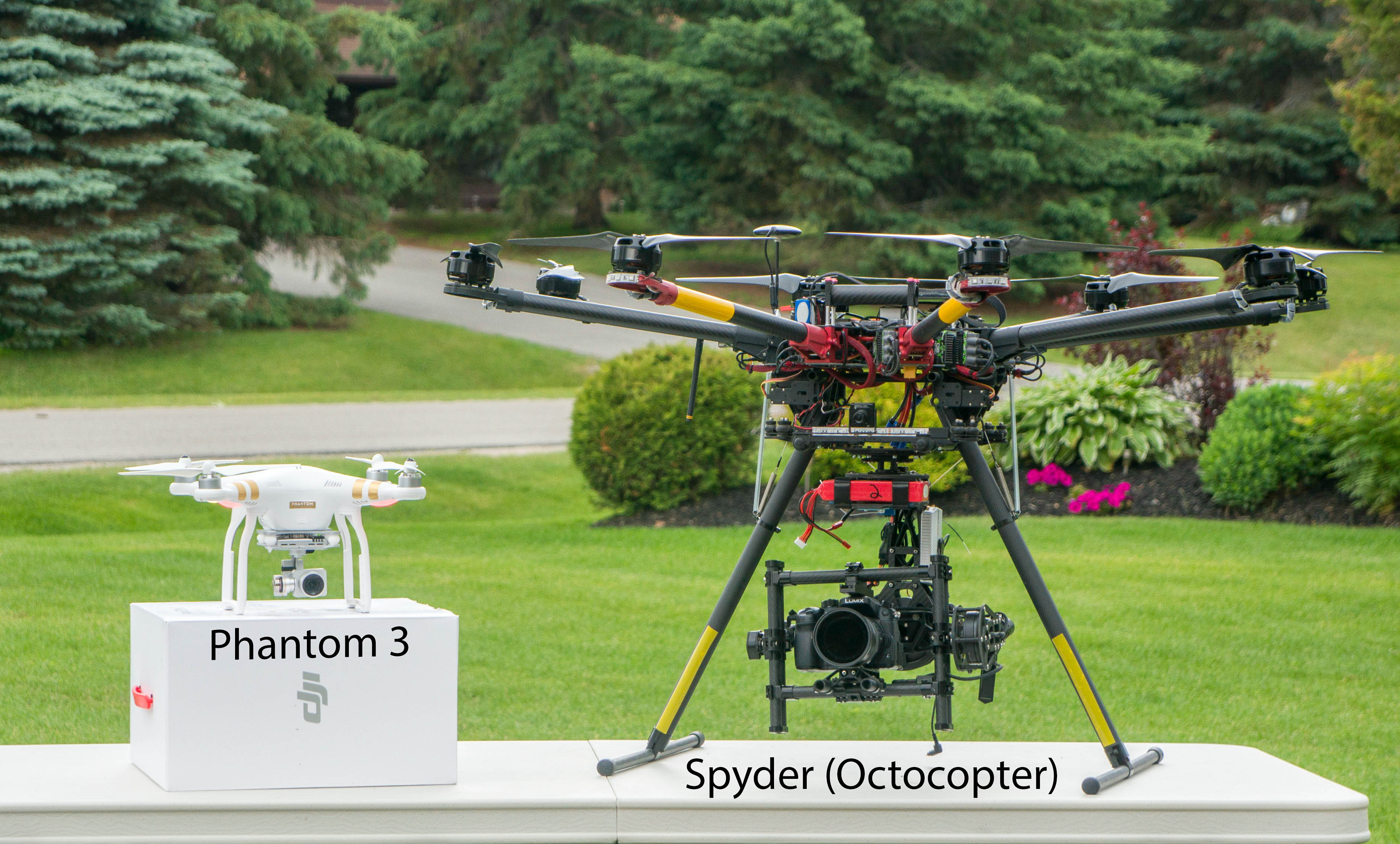 Spyder and Phantom 3 Pro