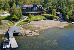 Aerial Photography Honey Harbour